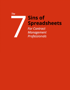 The 7 Sins of Spreadsheets for Contract Management Professionals