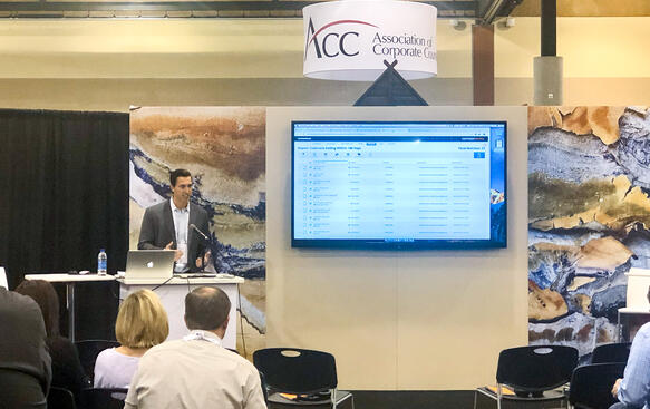 Anthony Perry presenting at the 2019 ACC Annual Meeting