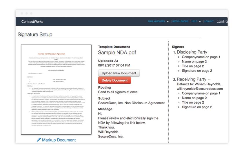 Non disclosure agreement templates