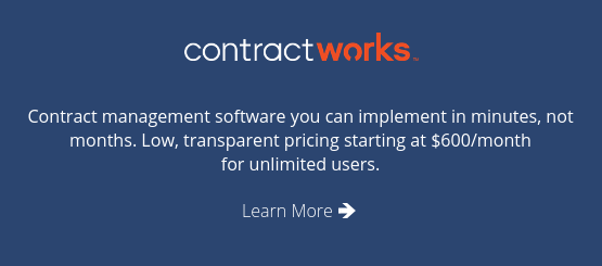 ContractWorks Contract Management Software